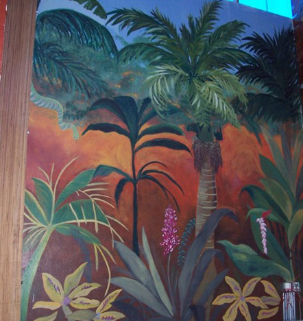 Not Just Blackboards - murals by Karla Bove