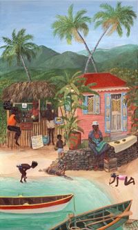 caribbean paintings by karla Bove